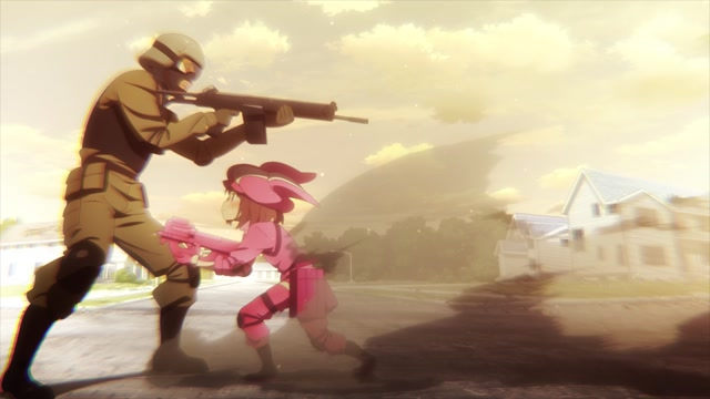 SWORD ART ONLINE ALTERNATIVE «GUN GALE ONLINE» Серия 5.5