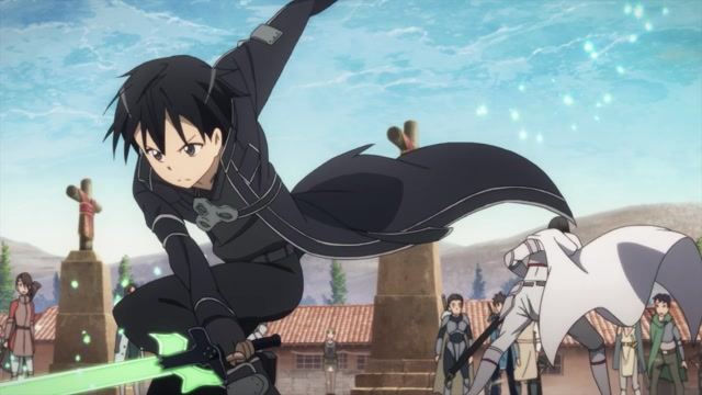 Sword Art Online  (OmU) Episode 08