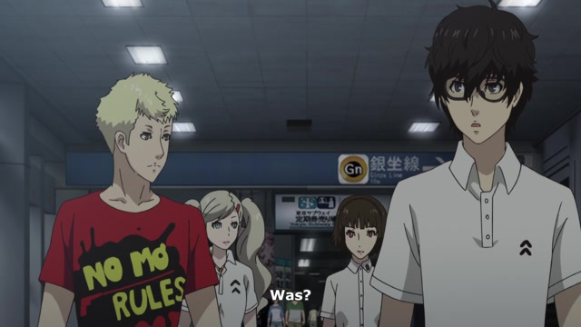 PERSONA5 the Animation (OmU) Folge 19