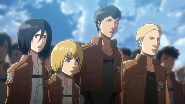 Атака титанов / Attack on Titan Серия 3