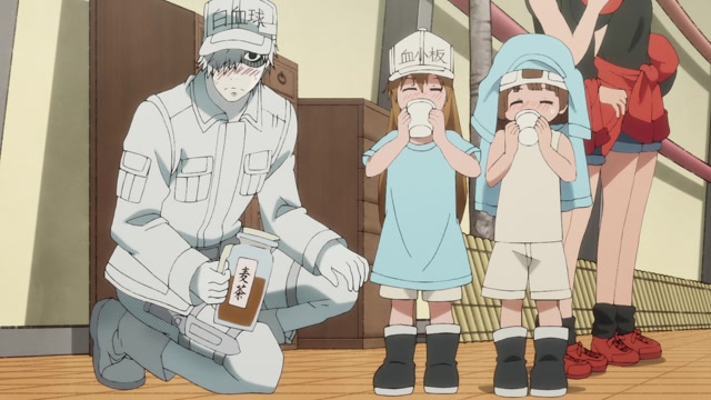 Cells at Work! (OmU) Folge 11