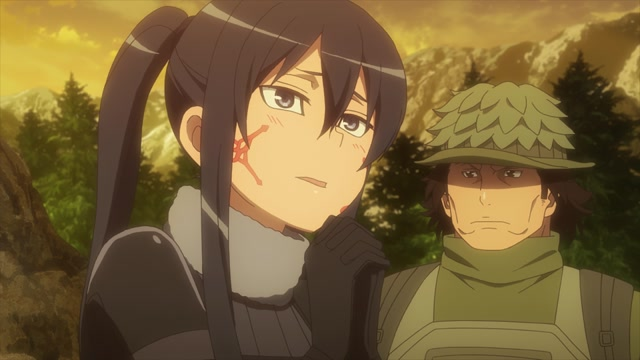 SWORD ART ONLINE ALTERNATIVE «GUN GALE ONLINE» Серия 9