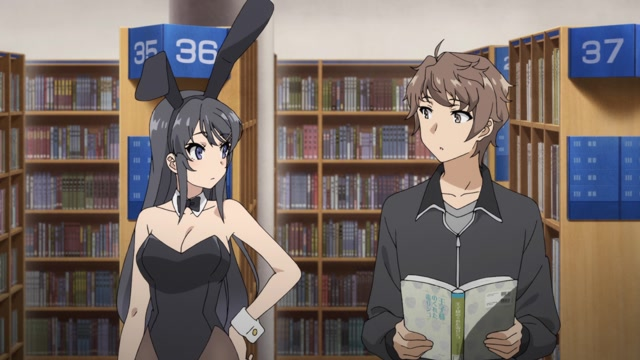 Episode 1 - Staffel 1 - Rascal Does Not Dream of Bunny Girl Senpai (OmU)
