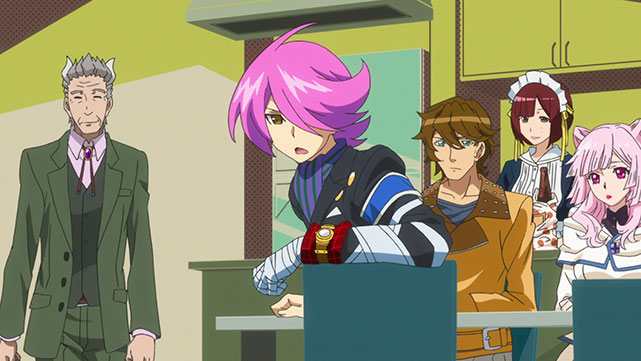 Concrete Revolutio Episodio 08