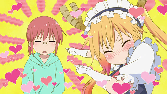 KOBAYASHI'S DRAGON MAID Episode 02
