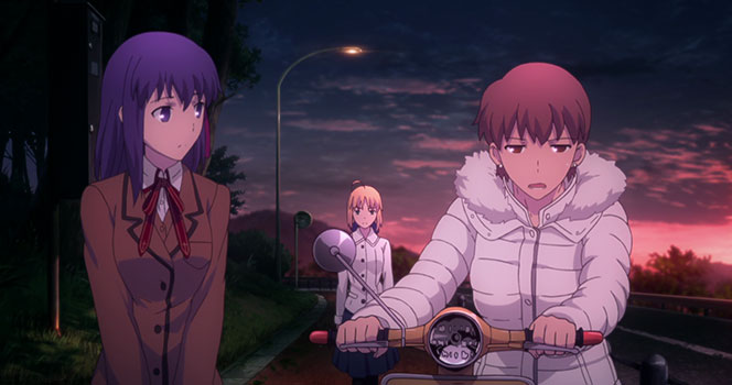 Fate/stay night: Unlimited Blade Works Episode 4