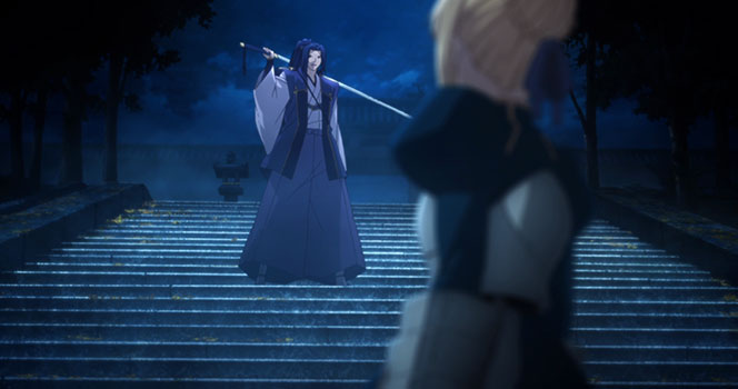 Fate/stay night: Unlimited Blade works Episode 7