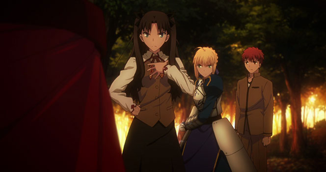 Fate/stay night: Unlimited Blade Works Episode 9