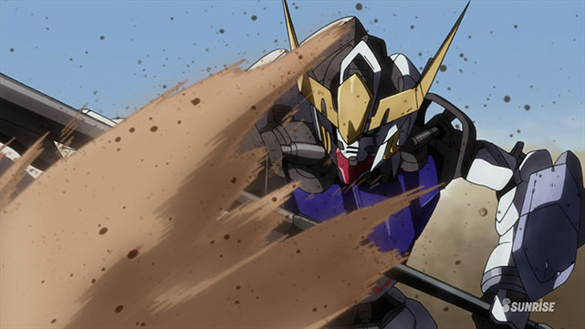 Mobile Suit Gundam : Iron-Blooded Orphans  Episode 02