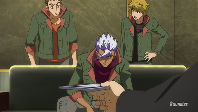 Mobile Suit Gundam IRON-BLOODED ORPHANS Episodio 03