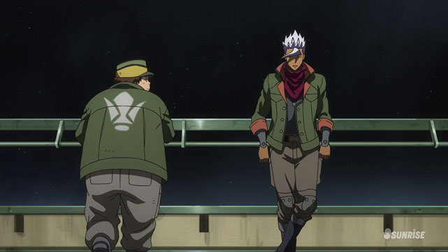 Mobile Suit Gundam : Iron-Blooded Orphans  Episode 06
