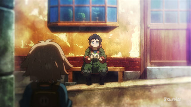 Mobile Suit Gundam : Iron-Blooded Orphans  Episode 10