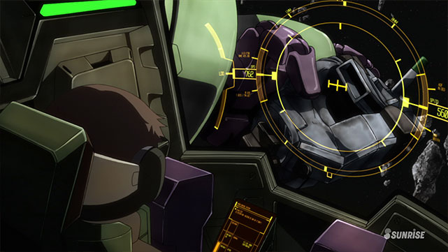 Mobile Suit Gundam IRON-BLOODED ORPHANS Episodio 11