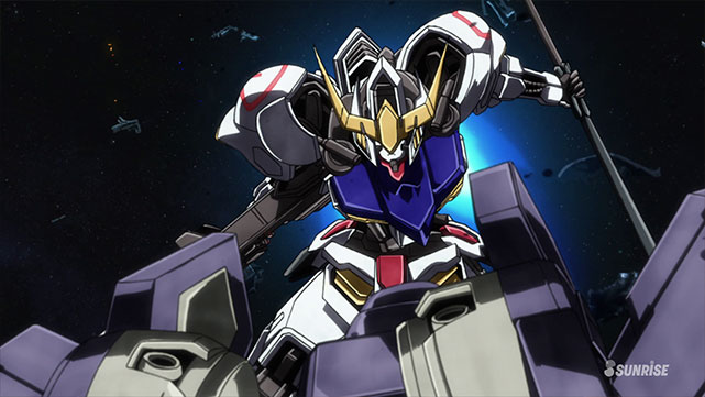 Mobile Suit Gundam IRON-BLOODED ORPHANS Episodio 17