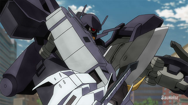 Mobile Suit Gundam : Iron-Blooded Orphans  Episode 25
