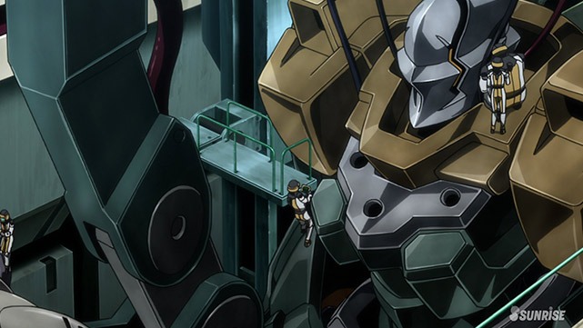 Mobile Suit Gundam : Iron-Blooded Orphans  Episode 42