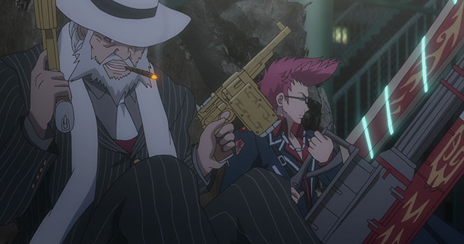 Gunslinger Stratos Episodio 05
