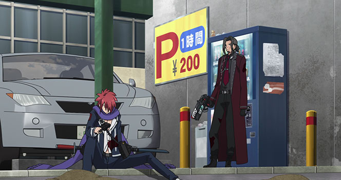 Gunslinger Stratos Episodio 08