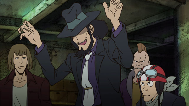Lupin the Third (2015) L'aventure italienne Episode 04