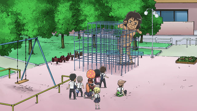 Attaque des Titans Junior High-school Episode 06