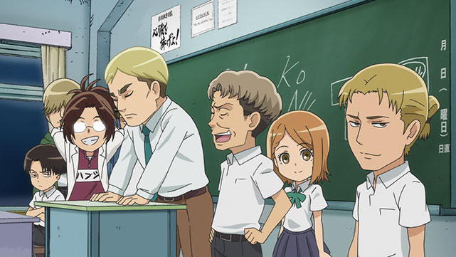 Attaque des Titans Junior High-school Episode 08