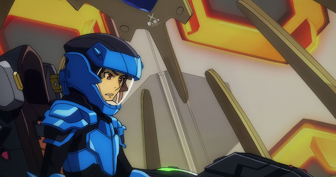 Valvrave: the liberator Episode 12