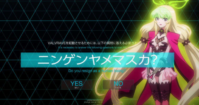 Valvrave: the liberator Episode 22