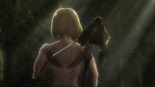Атака титанов / Attack on Titan Серия 22