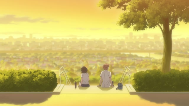 Our love has always been 10 centimeters apart. (OmU) Folge 01