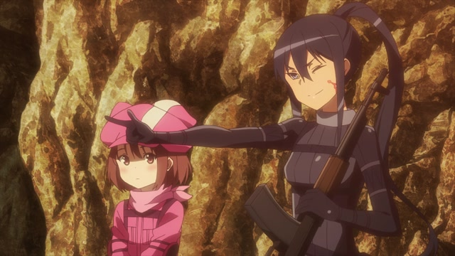 SWORD ART ONLINE ALTERNATIVE «GUN GALE ONLINE» Серия 3