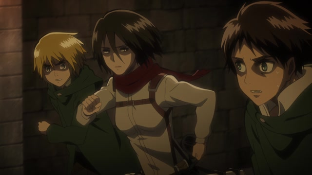 Атака титанов / Attack on Titan Серия 24