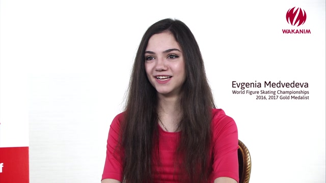 L'interview exclusive d'Evgenia Medvedeva