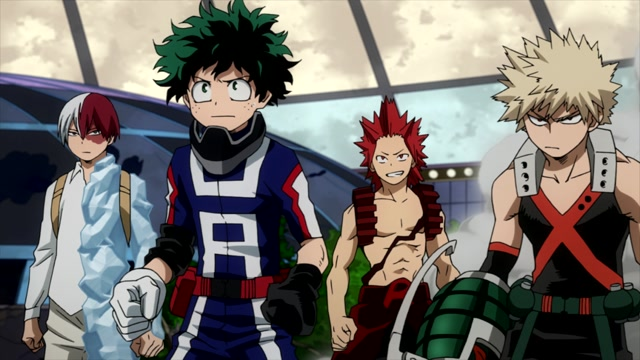 My Hero Academia Episode 13