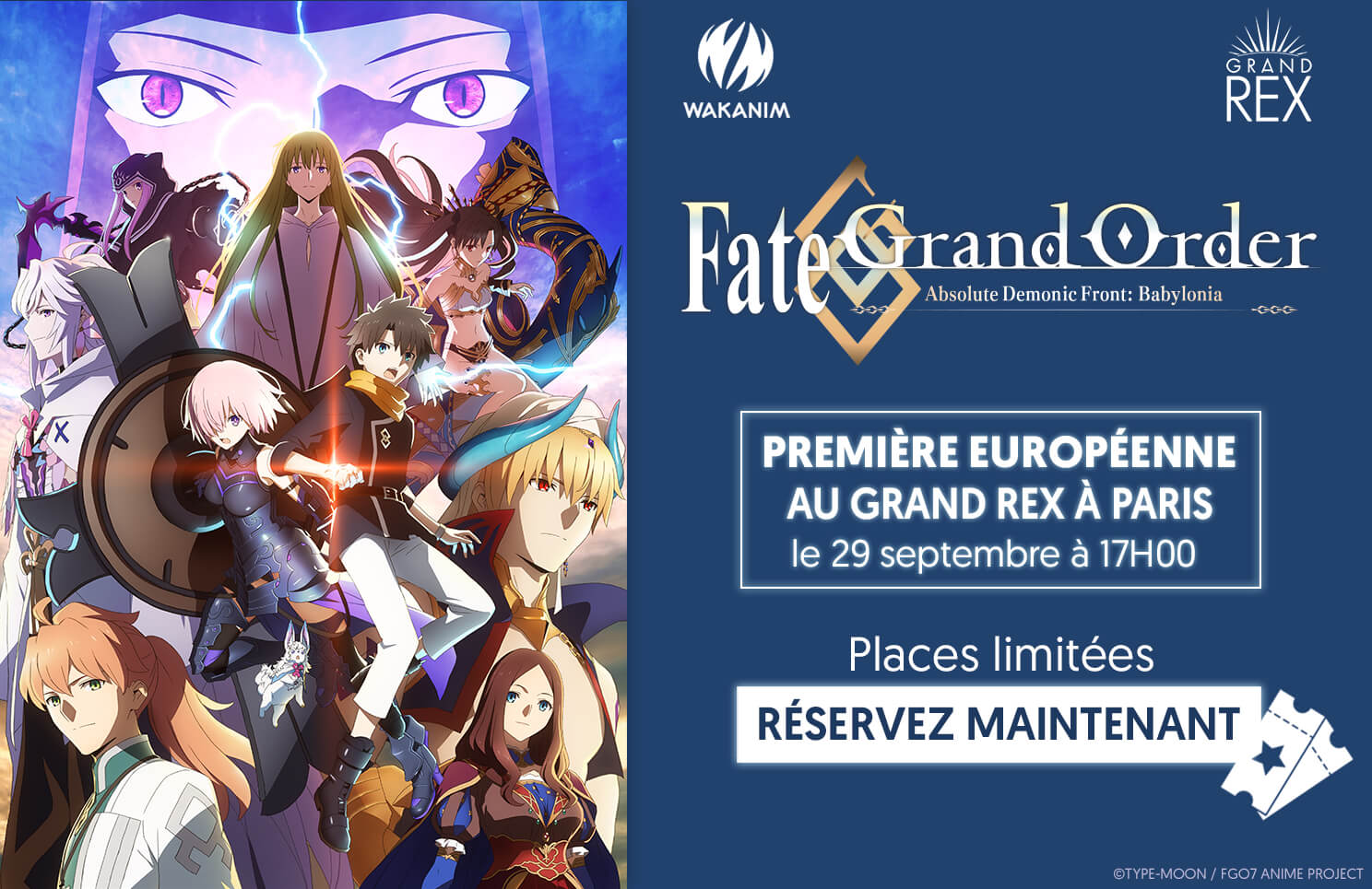 Fate/Grand Order Absolute Demonic Front: Babylonia Avant-première