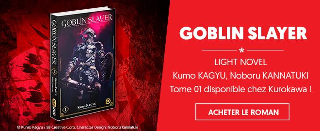 Light Novel Goblin Slayer T.01 - Kurokawa
