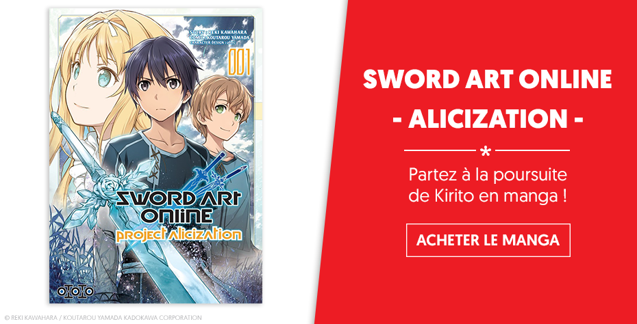 SAO Alicization manga